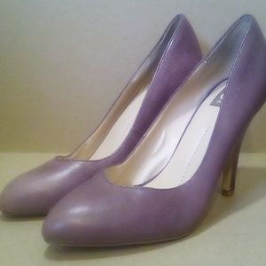 Purple Leather Dolce Vita 'Reza' Heels